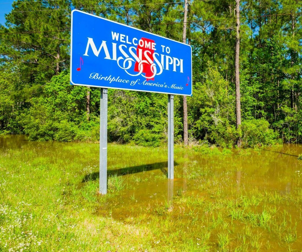 Mississippi sign as viewed by a Clinton Township same-sex divorce attorney