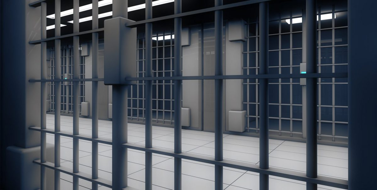 view in a jail cell from the perspective of a delinquent payer of child support who now needs the help of Bloomfield Hills criminal law attorneys