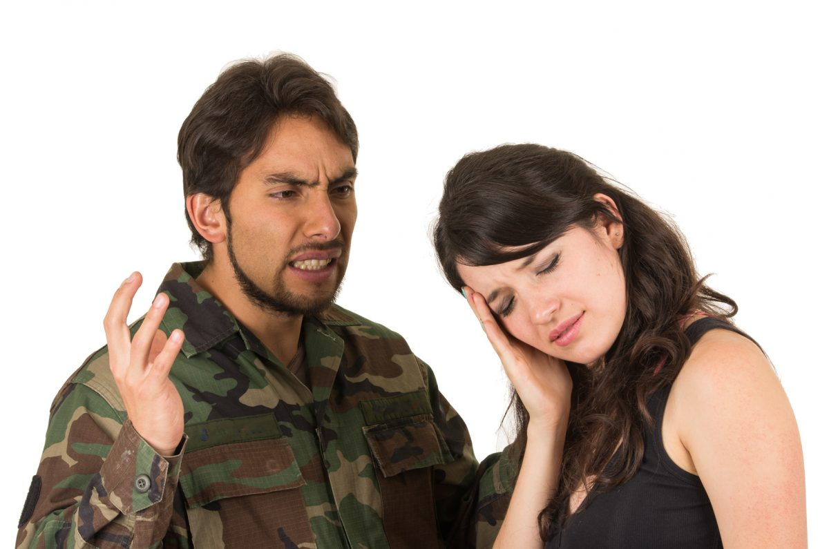 Military personal arguing with wife needs advice from Birmingham divorce lawyer