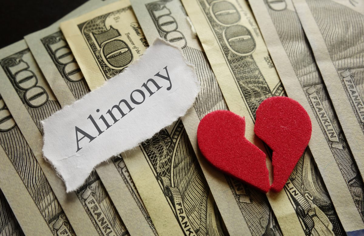 Heart and Alimony and money and if you need a top divorce attorney find one in Clinton Township, Michigan.