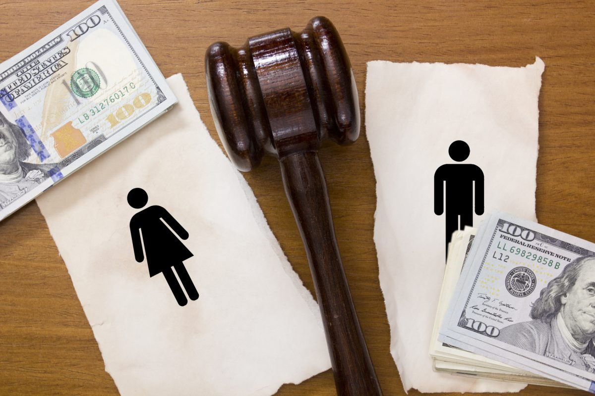 Divorce property division and if you need a good divorce attorney you will find one in Clinton Township, Michigan.