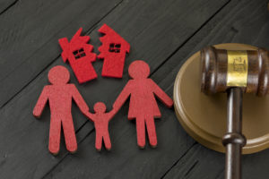Family law and divorce concept representing how our family law attorneys can assist you with divorce and custody