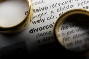 Definition of divorce with 2 gold rings, for advice on your child custody hire Divorce Lawyers Washington Township.