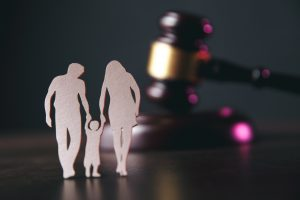 Paper Cutout of Family Child Cutody Lawyers in Sterling Heights
